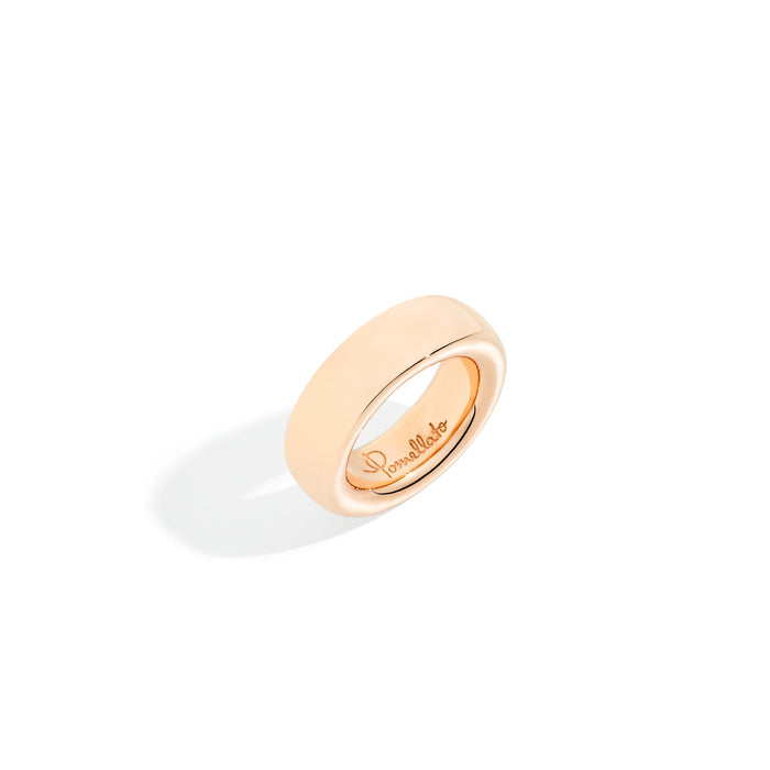 Iconica Medium Ring in 18kt Rose Gold