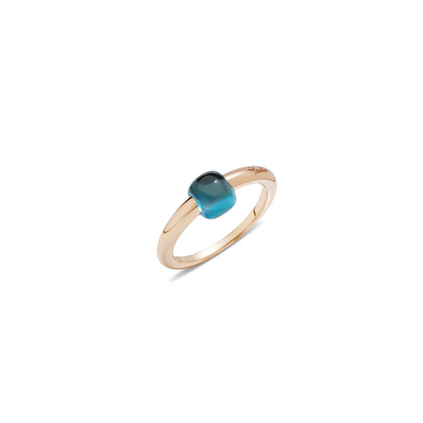 Mama Non Mama London Blue Topaz Gold Ring