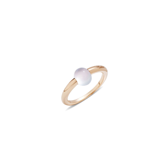 Mama Non Mama White Moonstone Gold Ring