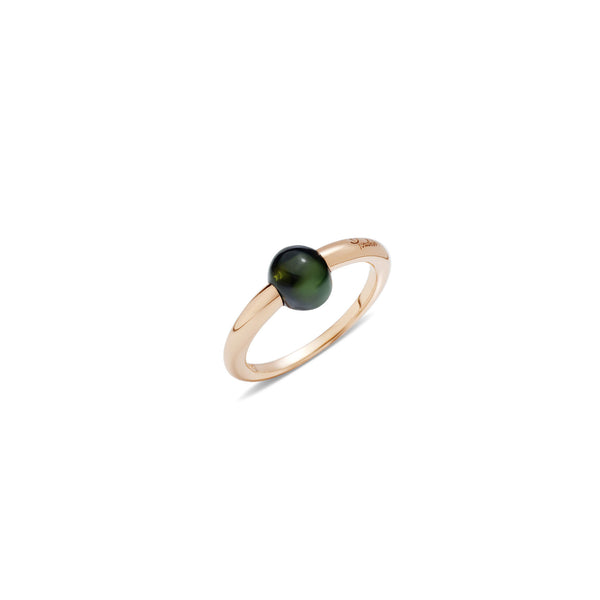 Mama Non Mama Green Tourmaline Gold Ring