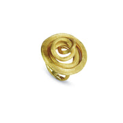 Jaipur Link 18k Gold Large Swirl Ring