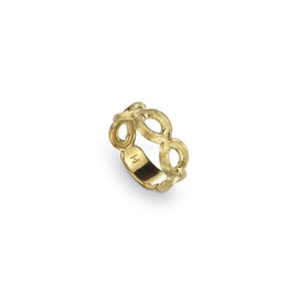 Siviglia Five Circle 18k Gold Ring