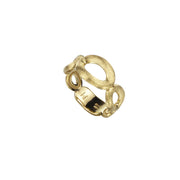 Siviglia Five Circle Graduated 18k Gold Ring