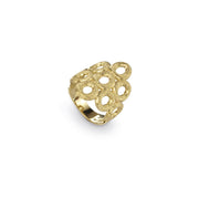 Siviglia Nine Circle 18k Gold Ring