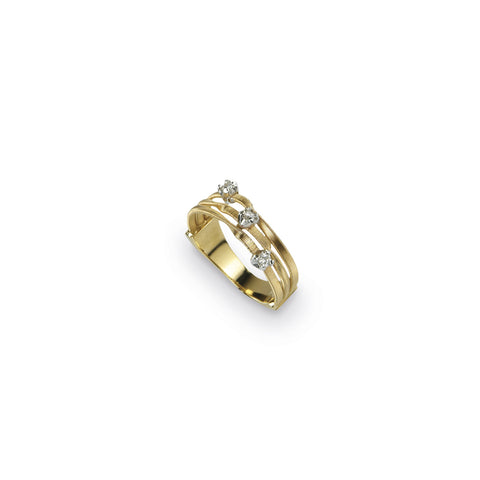 Marrakech Mini Three Strand Diamond Ring