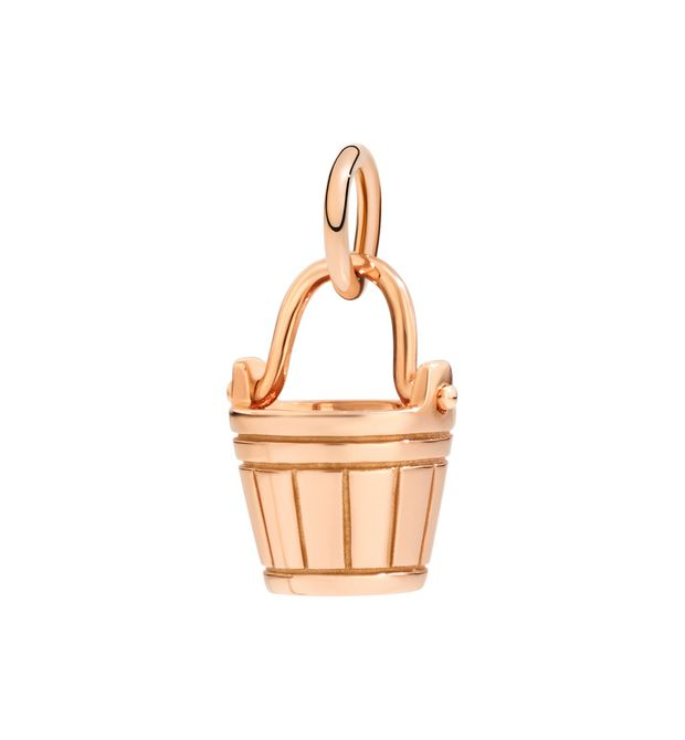 Dodo Aquarius Charm in 9k Rose Gold