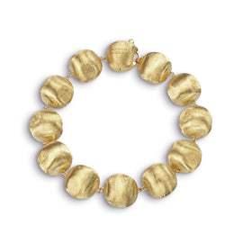 Africa Small 18k Gold Ball 20cm Bracelet
