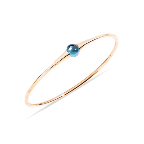 Mama Non Mama London Blue Topaz Gold Bracelet