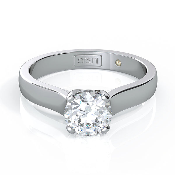 Castello 3 Stone Princess Cut Diamond Ring by Orsini Jewellers