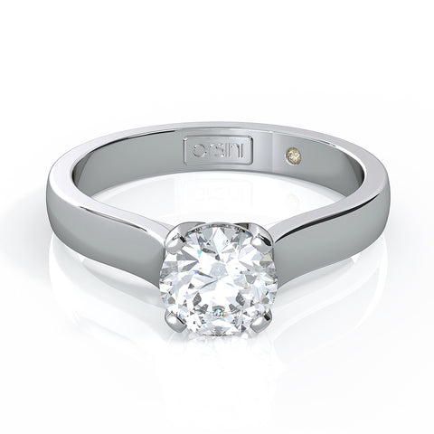 Orsini Castello 3 Stone Princess Cut Diamond Ring