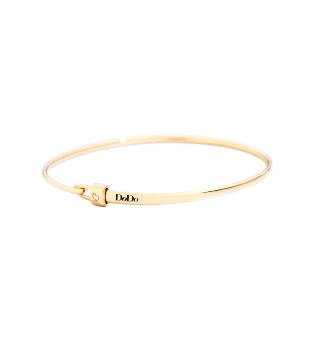 DoDo Bangle in 18k Yellow Gold