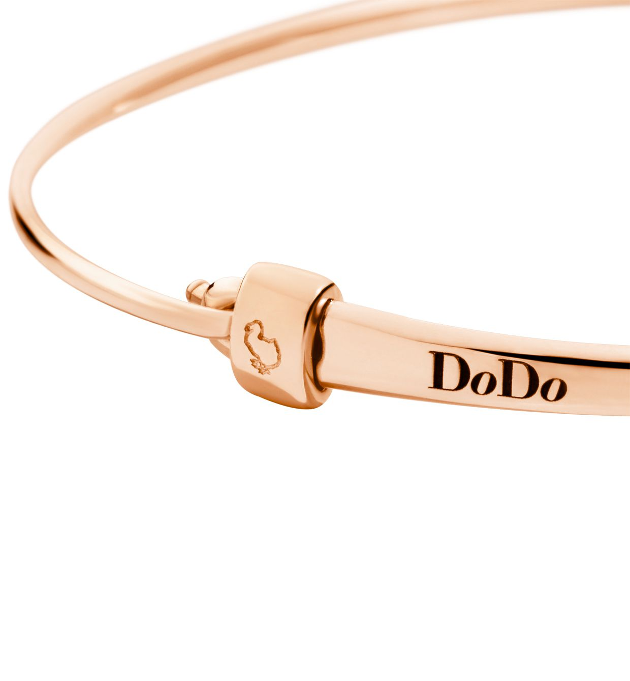 DoDo Bangle Stopper in 9k Rose Gold - Orsini Jewellers NZ