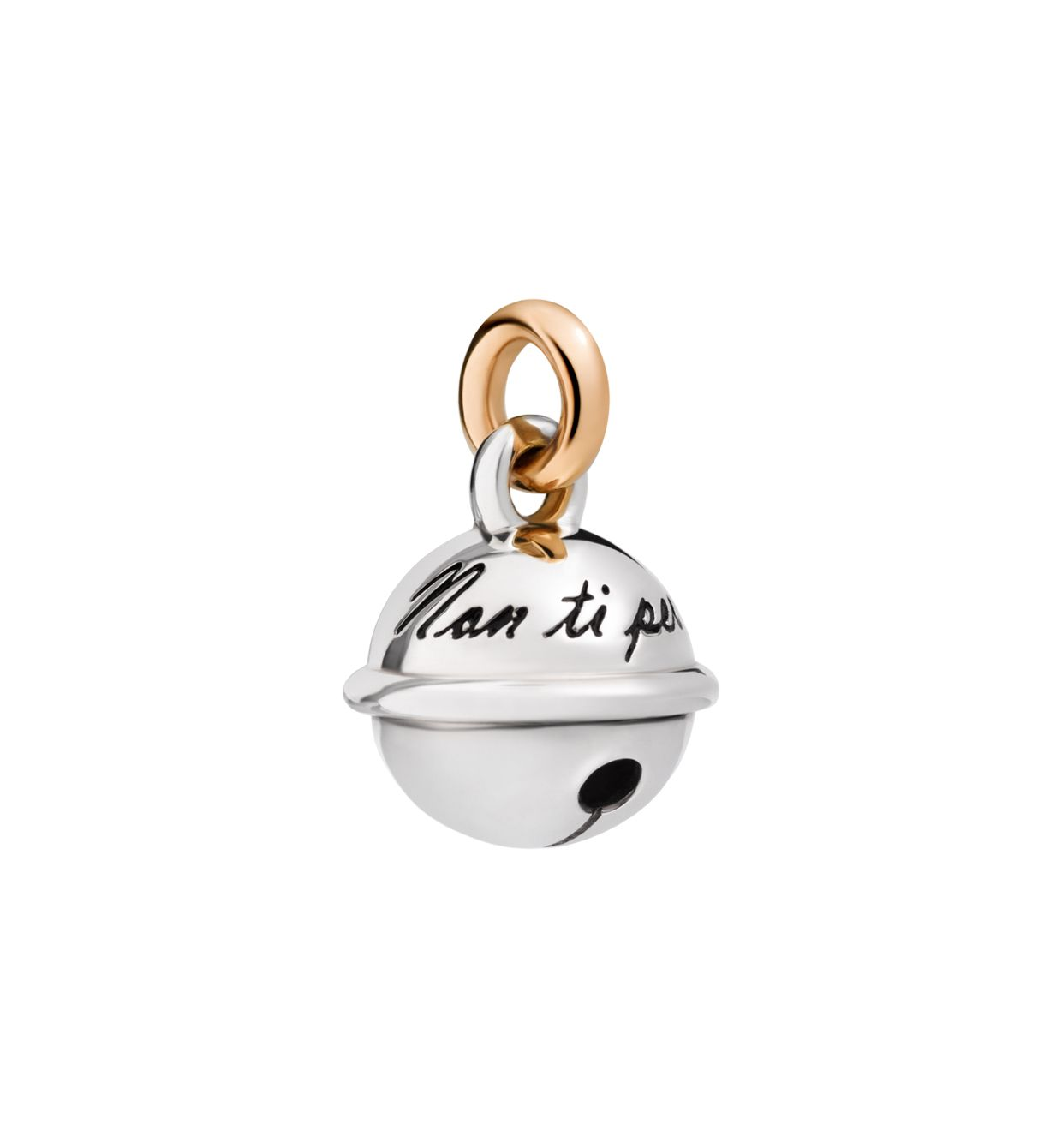 DoDo Bell in Silver and 9k Rose Gold - Orsini Jewellers NZ