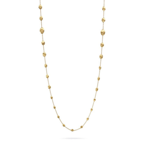 Siviglia 18k Gold Ball Graduated 92cm Necklace