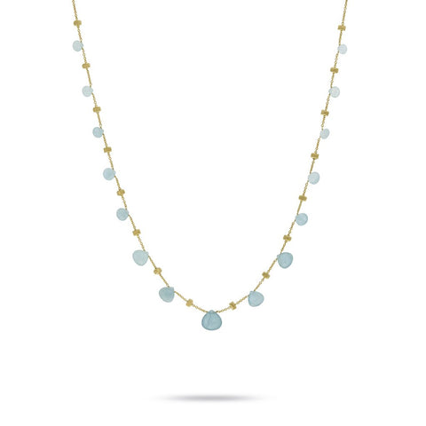 Paradise Aquamarine Necklace