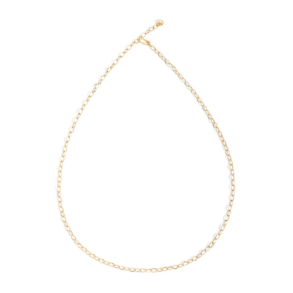 Capri Necklace in Yellow Gold 90 cm