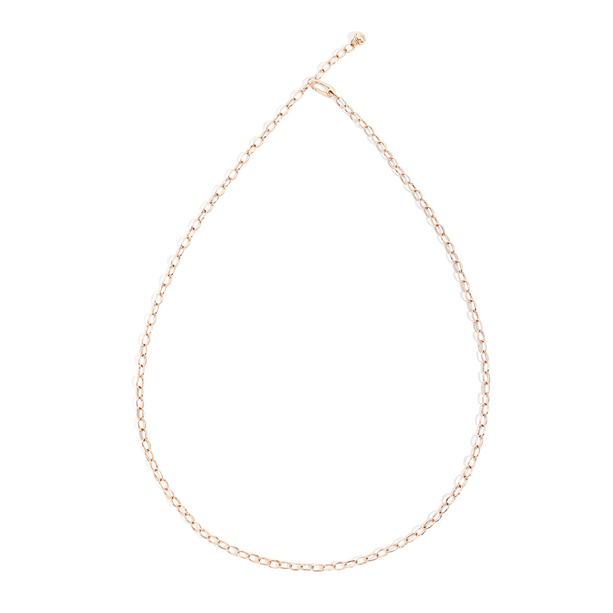 Capri Necklace in 18k Rose Gold - Orsini Jewellers NZ