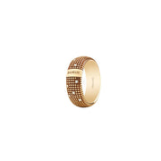 Damiani Metropolitan Yellow Gold Ring with Diamonds