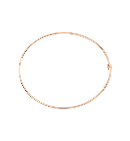 Dodo Bangle Bracelet 9k Rose Gold