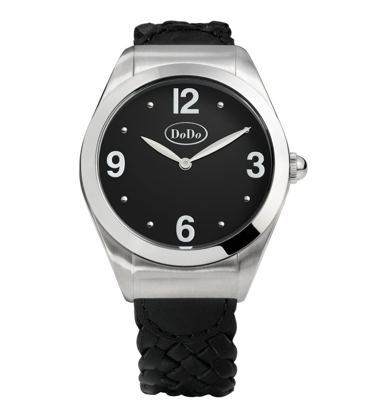 DoDo Black & Steel Watch - Orsini Jewellers NZ