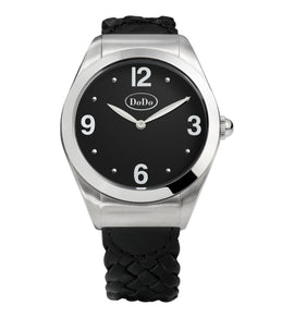 Dodo Black & Steel Watch