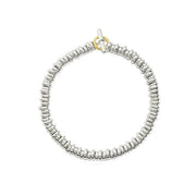 DoDo Rondelle Bracelet Kit in Silver with Yellow Gold Brise Ring