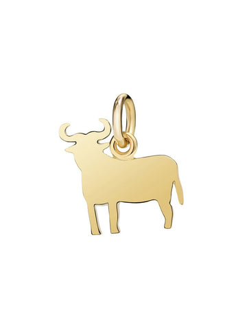 Dodo Bull Charm Yellow Gold