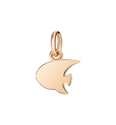 Dodo Angelfish Charm Rose Gold