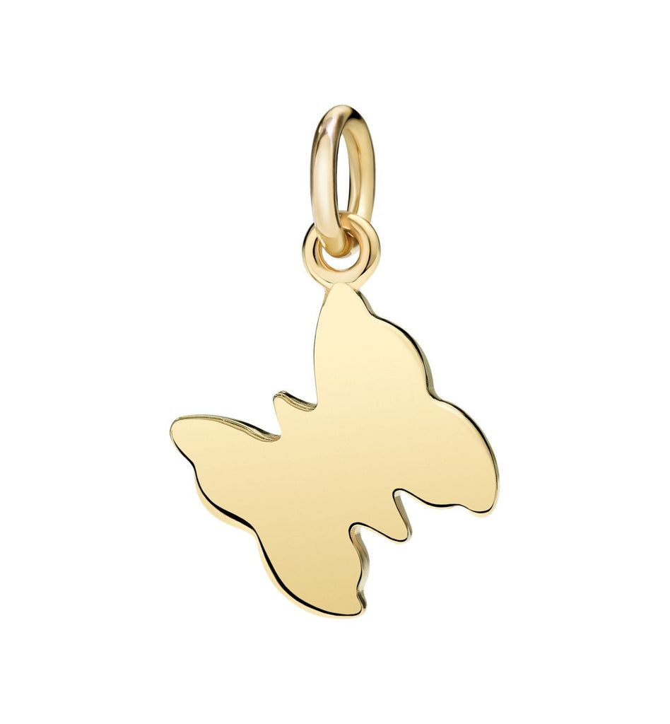 "Dodo Butterfly charm ""I love freedom"""
