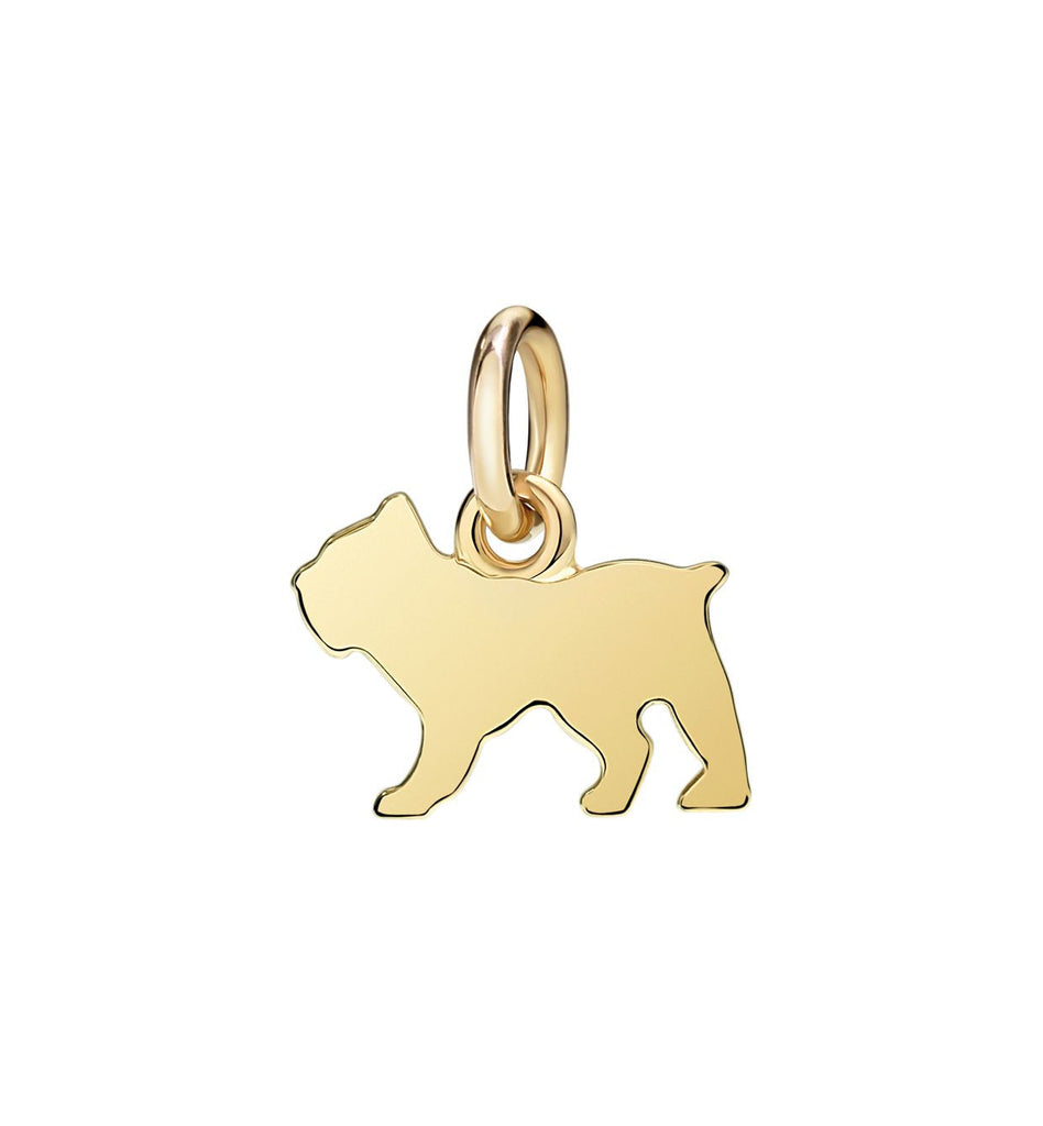 "Dodo Dog Charm ""Best friends forever"""