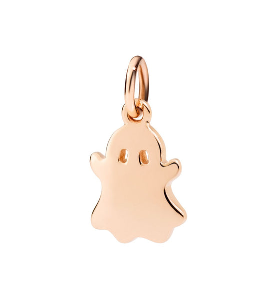 Dodo Ghost Charm Rose Gold