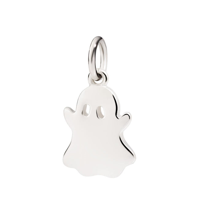 Dodo Charm Ghost in Silver