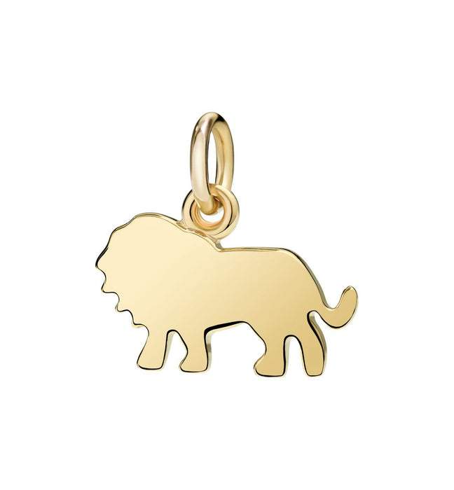 Dodo Lion Charm 18k yellow gold