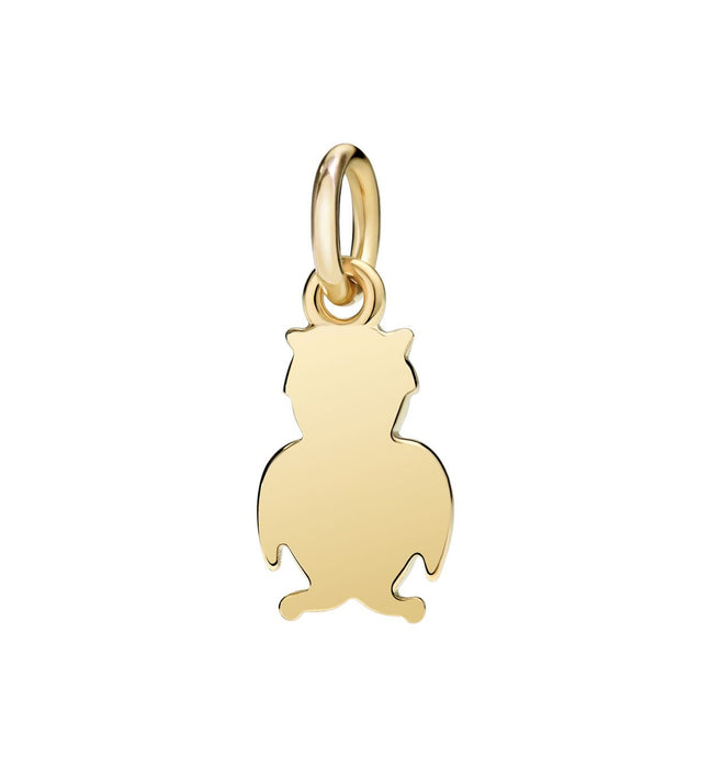 DoDo Owl in 18kt Yellow Gold