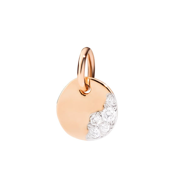 Dodo Charm Day in 9k Rose Gold with Diamonds