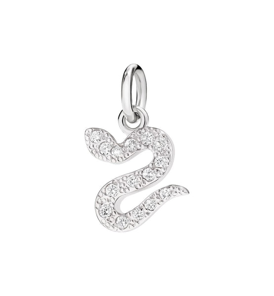 "Dodo Serpent pave diamonds 18kt white gold ""you tempt me"""