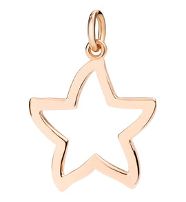 DoDo Star Silhouette in 9k Rose Gold