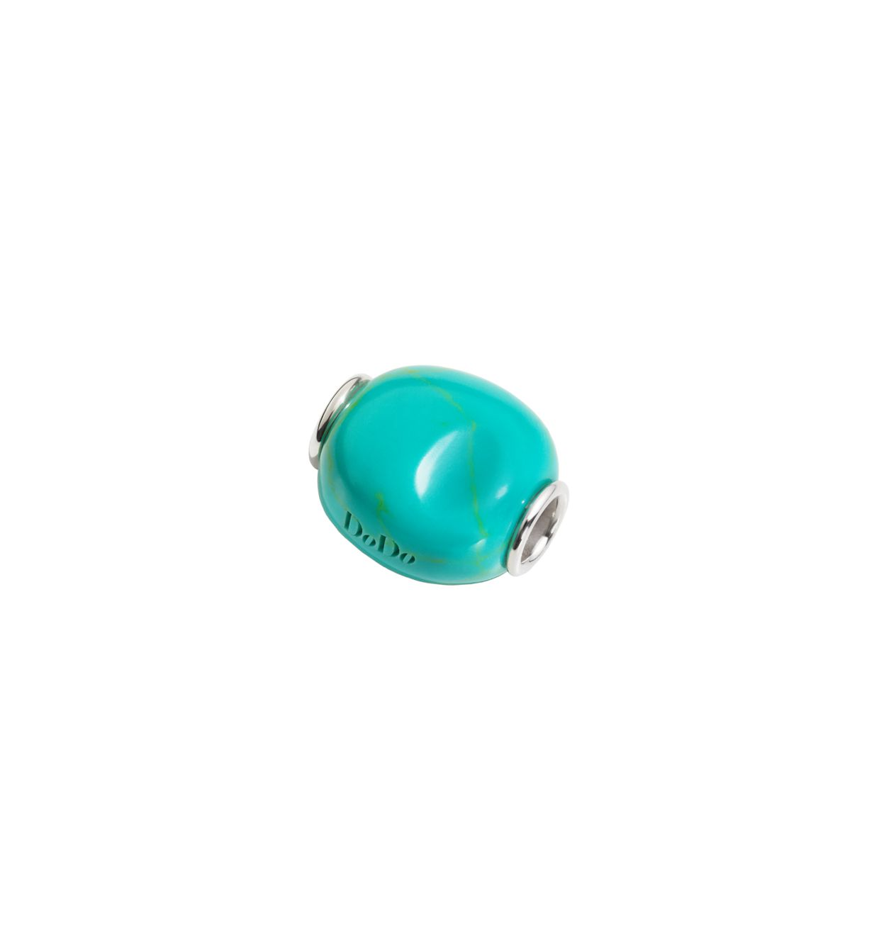 Dodo Nugget in Silver and Turquoise Resin - Orsini Jewellers NZ
