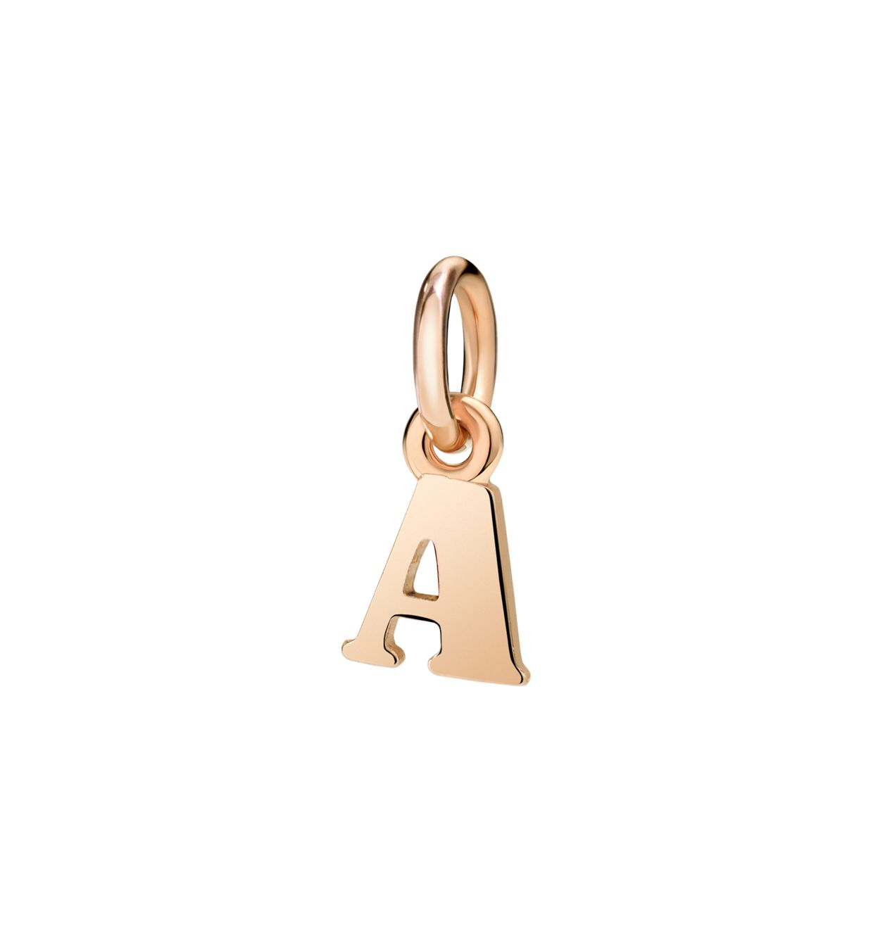 DoDo Letter A in 9k Rose Gold - Orsini Jewellers NZ