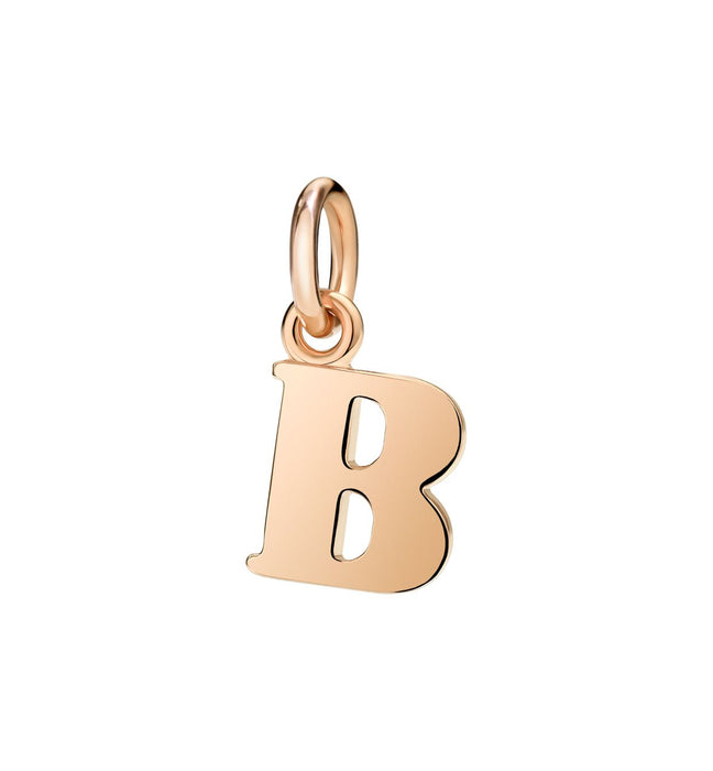 DoDo Letter B in 9k Rose Gold