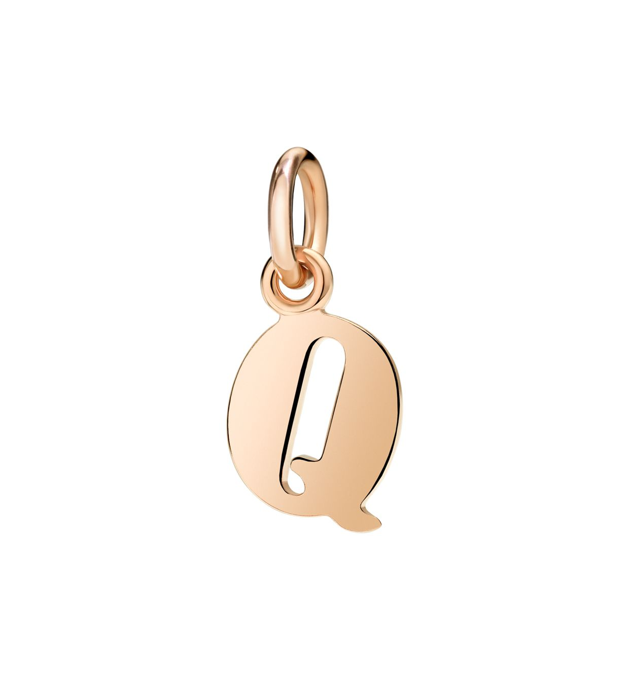 DoDo Letter Q in 9k Rose Gold - Orsini Jewellers NZ