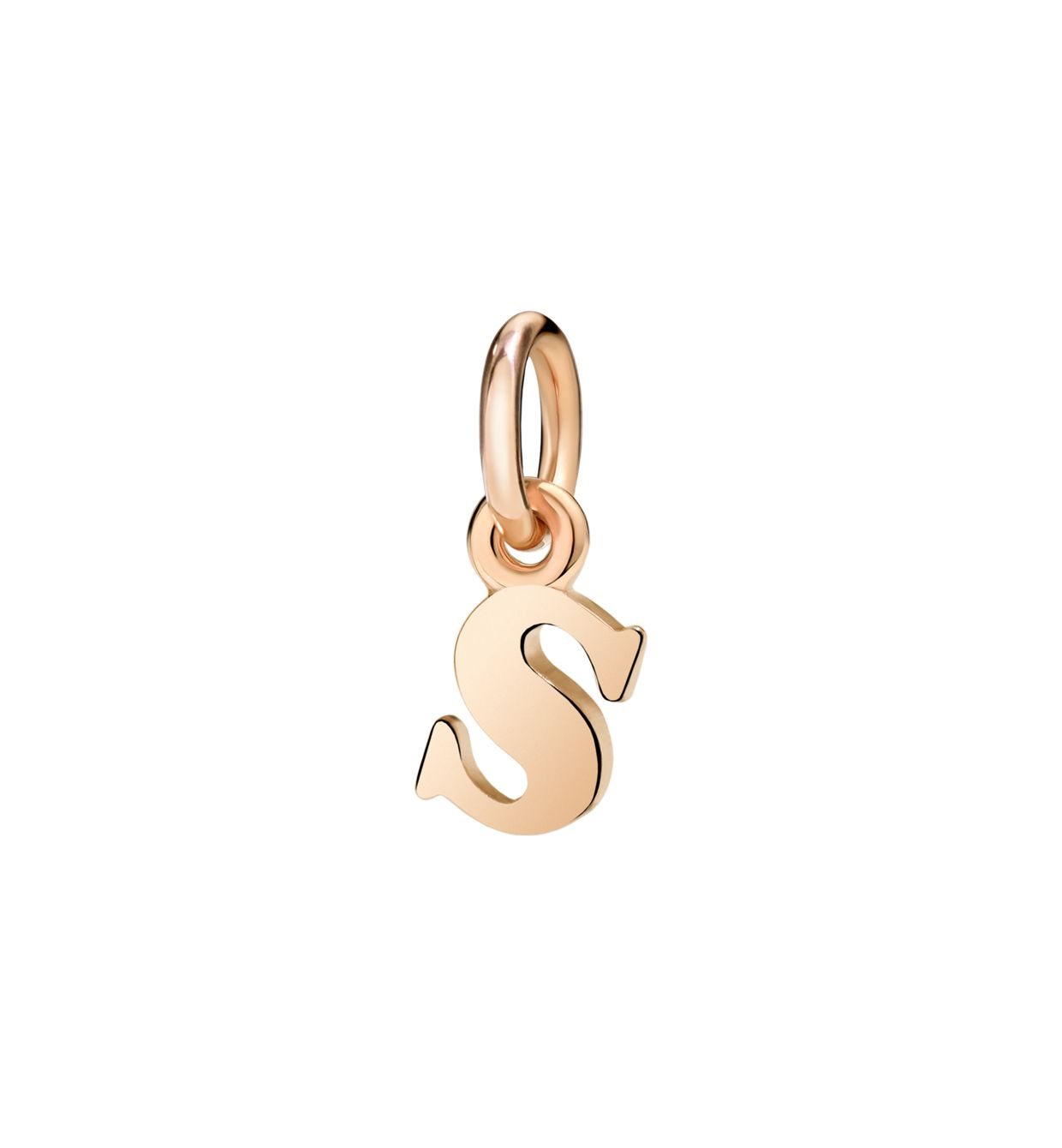 DoDo Letter S in 9k Rose Gold - Orsini Jewellers NZ