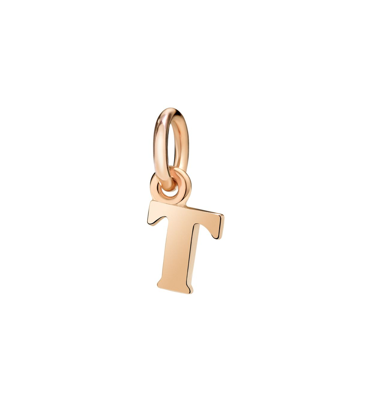 DoDo Letter T in 9k Rose Gold - Orsini Jewellers NZ