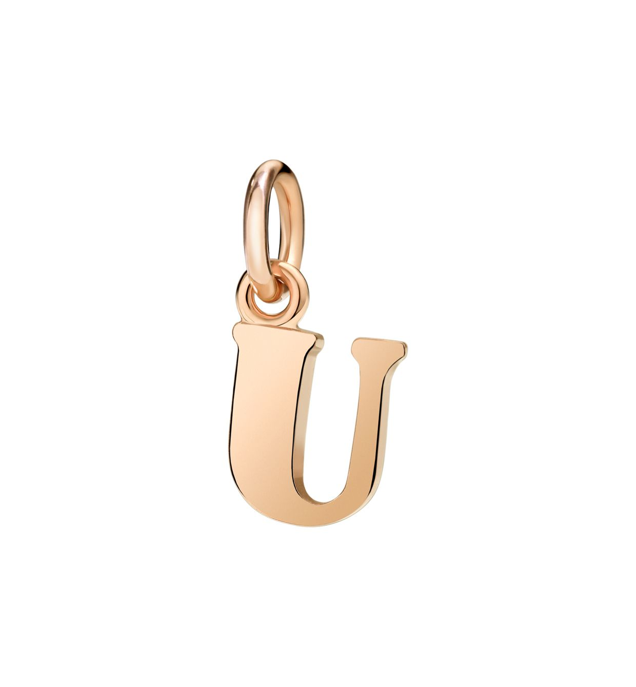 DoDo Letter U in 9k Rose Gold - Orsini Jewellers NZ