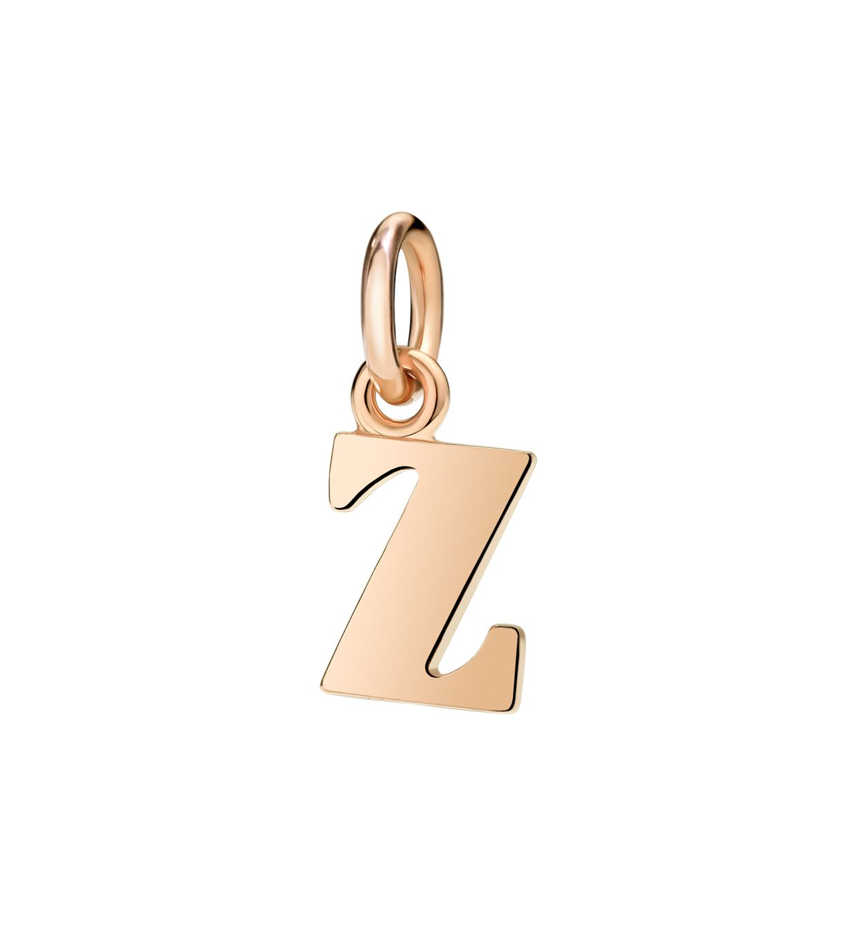 DoDo Letter Z in 9k Rose Gold - Orsini Jewellers NZ