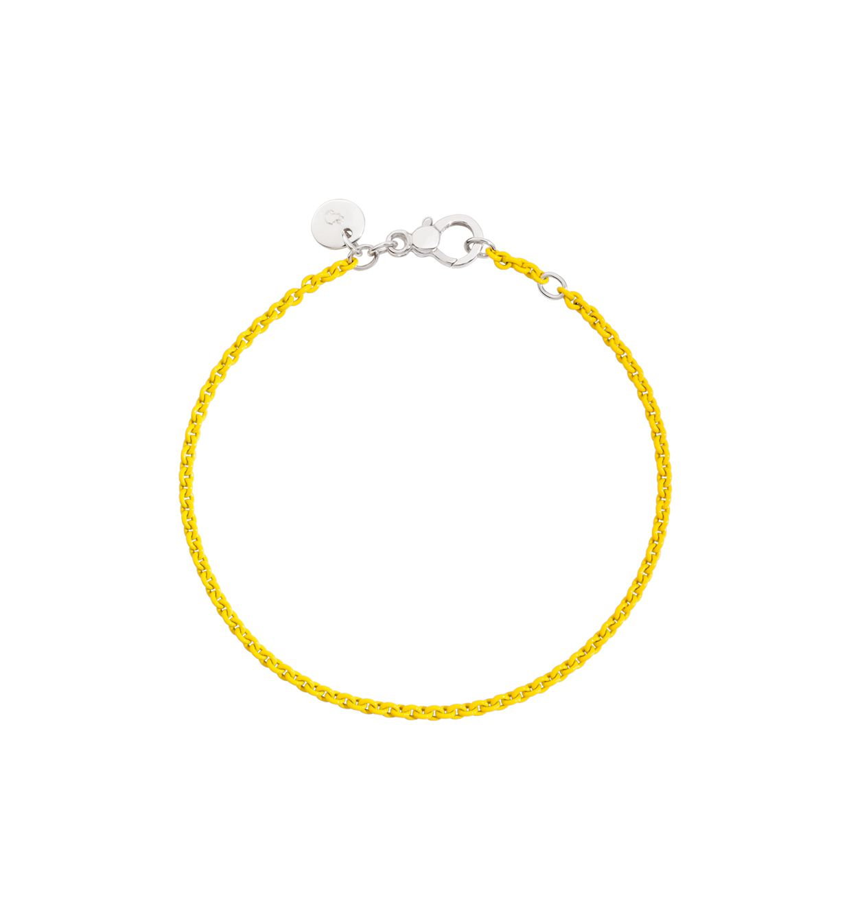 DoDo Chain Bracelet in Yellow Lacquered Silver - Orsini Jewellers NZ