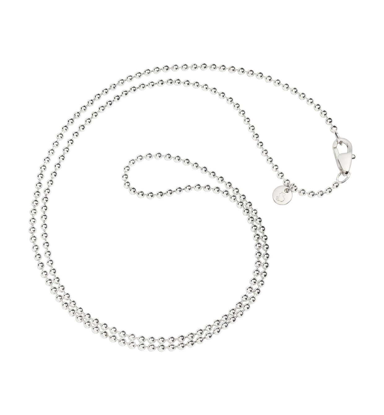 DoDo Bollicine Chain Necklace in Silver - Orsini Jewellers NZ