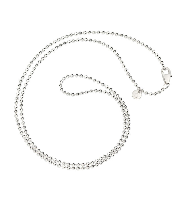DoDo Bollicine Chain Necklace in Silver