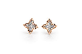 Palladio Earrings in 18k Rose Gold with Diamonds