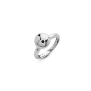 Funghetti 18k white gold ball ring